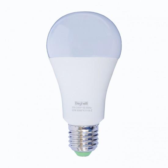 Beghelli Λάμπα LED E27 GOCCIA, 22W 2500 lm Ψυχρό φως