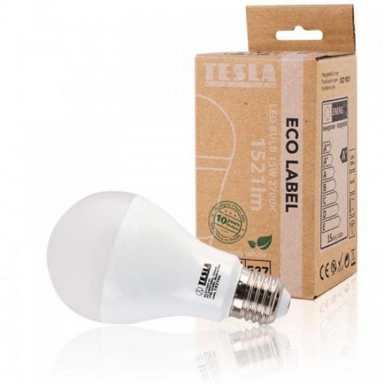 Tesla Λάμπα LED E27 ECO LABEL 15W 1521 lm Θερμό φως