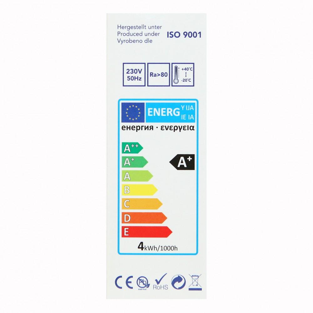 Tesla Κερί LED E14 CRYSTAL RETRO FILAMENT, BLUE LABEL, 4W 470 lm Θερμό φως