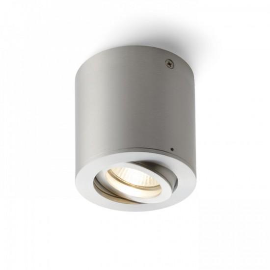 Φωτιστικό οροφής από αλουμίνιο, με κατευθυνόμενη δέσμη.