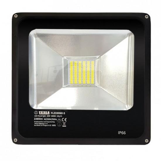 Tesla LED Προβολέας 30W 2265 lm Ψυχρό φως