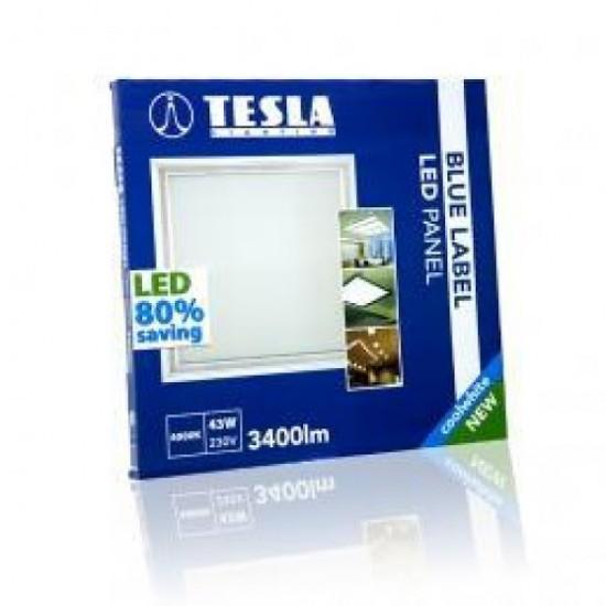Tesla LED Πάνελ 60x60 BLUE LABEL 43W 4000K Φυσικό φως ημέρας