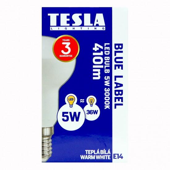 Tesla Λάμπα LED E14 Καθρέπτου 5W 410 lm Θερμό Λευκό