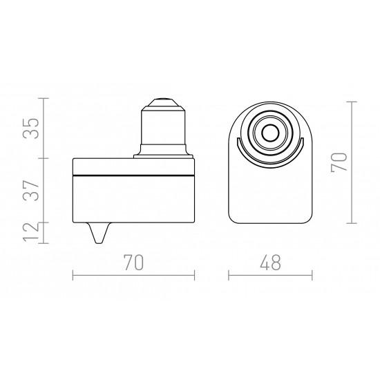 Αντάπτορας λαμπτήρων τύπου Ε27, με αισθητήρα κίνησης