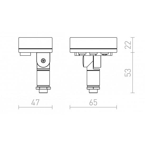 Αισθητήρας κίνησης, 500 W, IP65