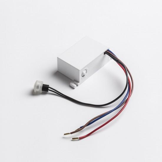 Αισθητήρας σκότους, για τον έλεγχο του φωτισμού, IP44.